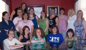 Shannan, Loree, Debba, Vickie, Katy, Michelle, Susan, Barb, Robin, Julie, Laura, Olivia, Amy, Andrea, Monika