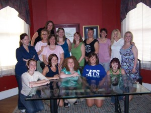 A group photo from one of CWB's early meetings on the second floor of the Bean Haus. It's amazing how much we've grown in a year!